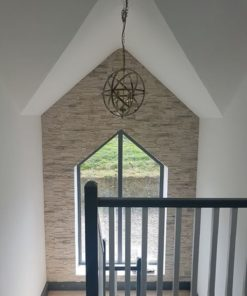 madera stone for stairway wall