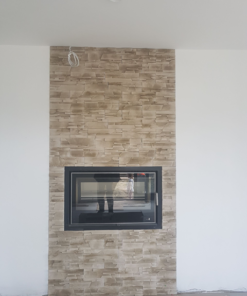 stone cladding-fireplace