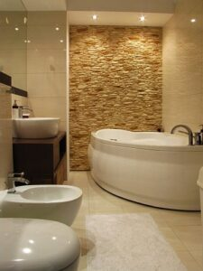 neutral colour bathroom design