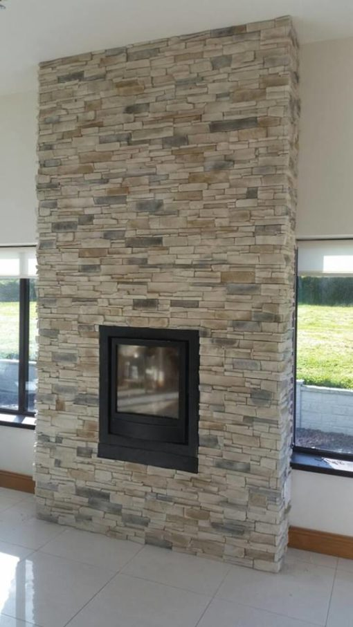 stove fireplace cladding decorative tiles heat resistant