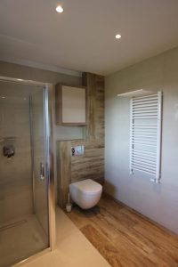 Wood Effect Tiles In Bathroom