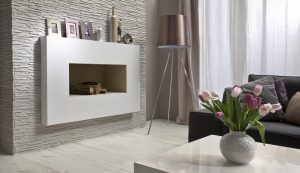 PALERMO white-fireplace