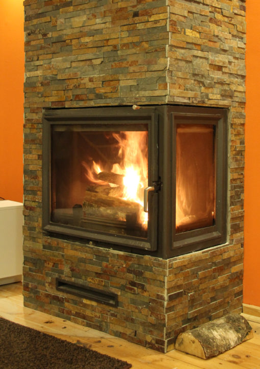 RUSTY-fireplace-natural-stone-cladding-cork