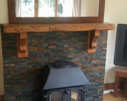 Fireplace tiles & accessories