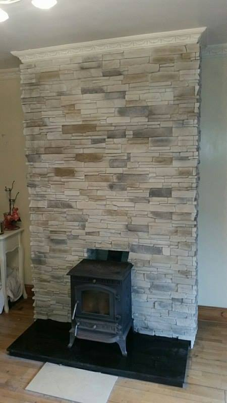 Grenada Frost Fake Stone Cladding Tiles Outdoor Indoor