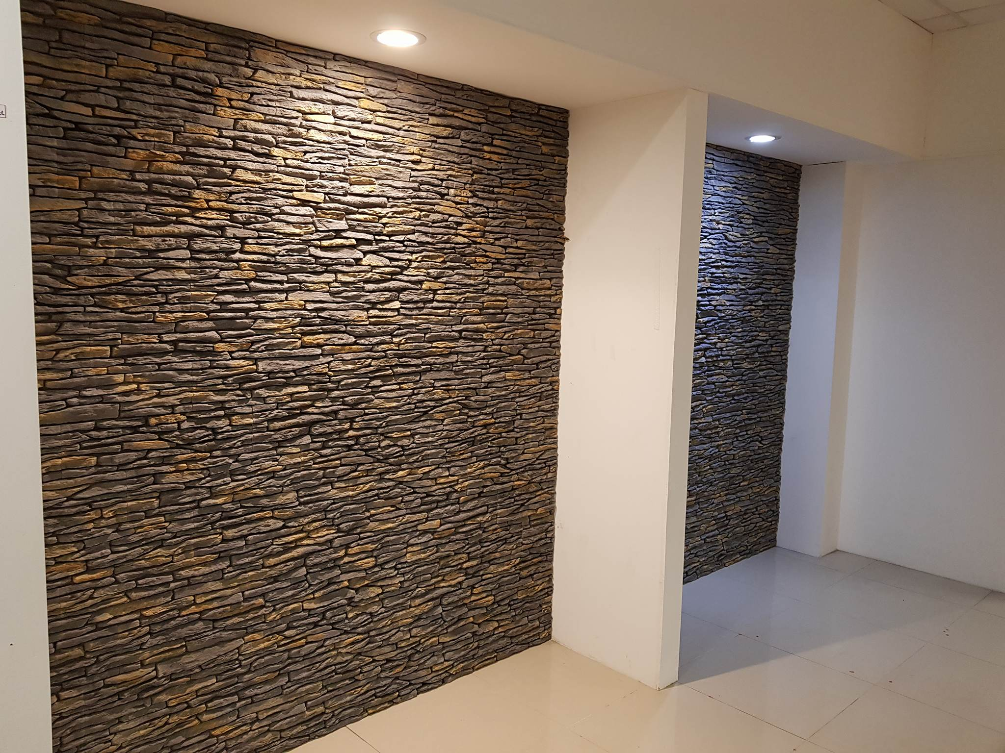 California Grey Stone Veneer Slips Internal External Walls Deco Stones