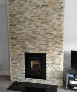 nepal frost chimney breast stone cladding