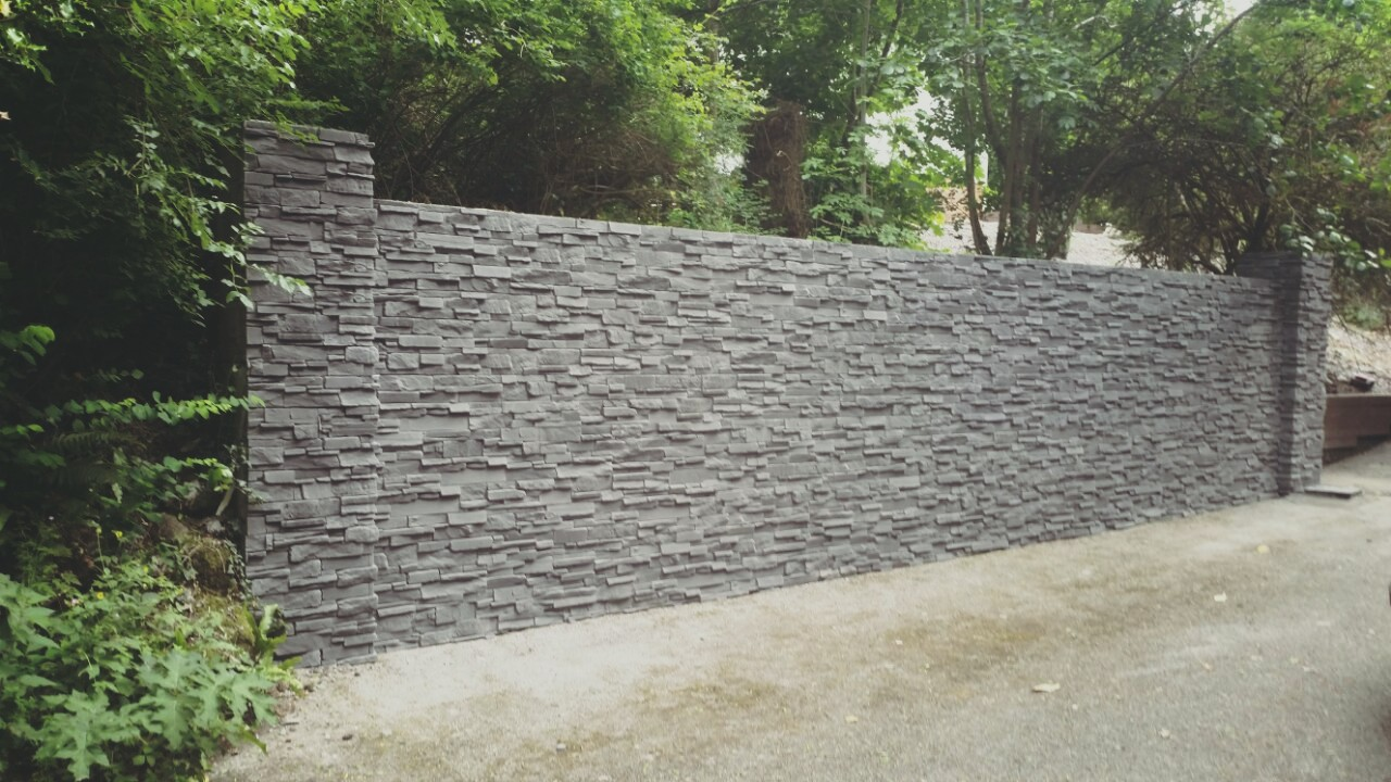 Unique Stone effect -Garden Wall and Front House - Deco Stones KQ32
