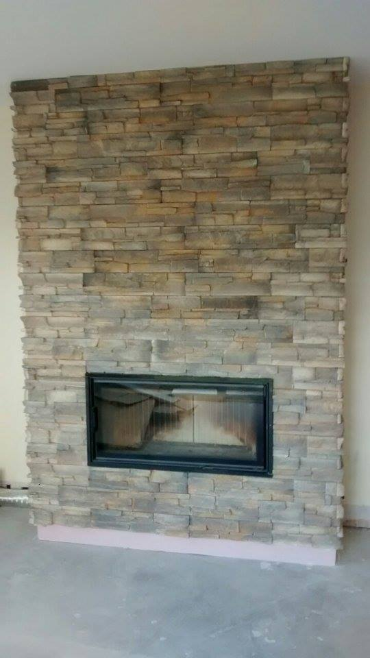 Fireplace Chimney Breast Transformation Deco Stones