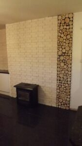 stove-white-brick-wood-panel