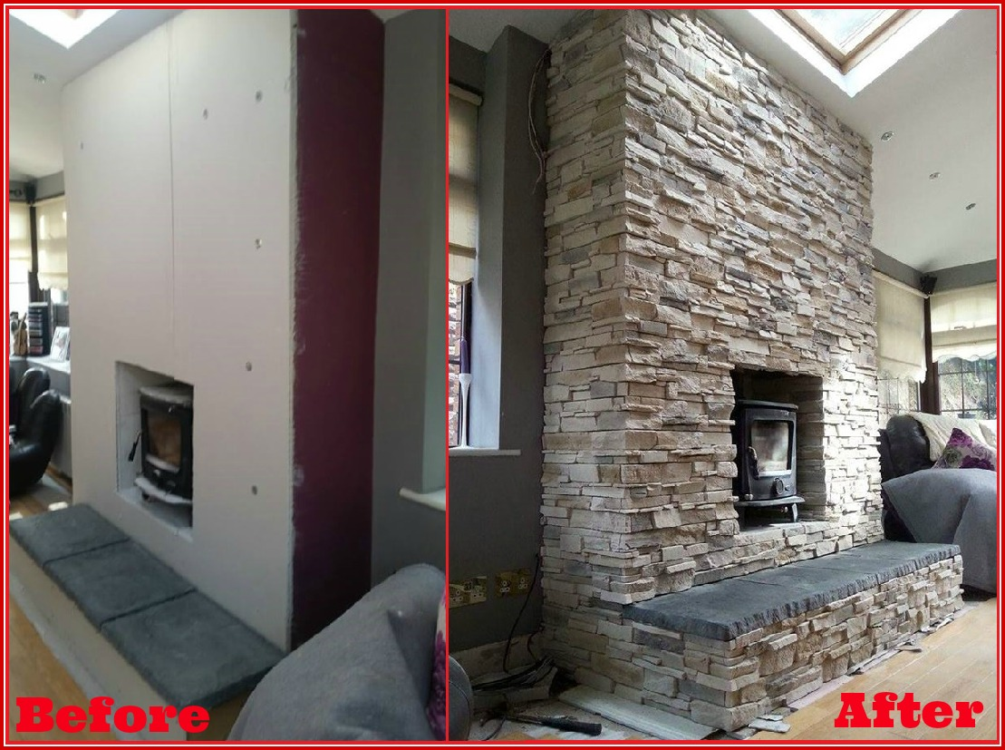 chimney breast transformation