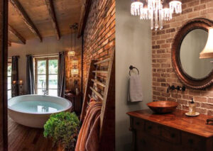 brick-cladding-bathroom-wall-ideas-2017