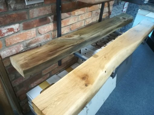 oak beam mantelpiece