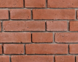 Monsanto Red Brick Cladding with grey joint