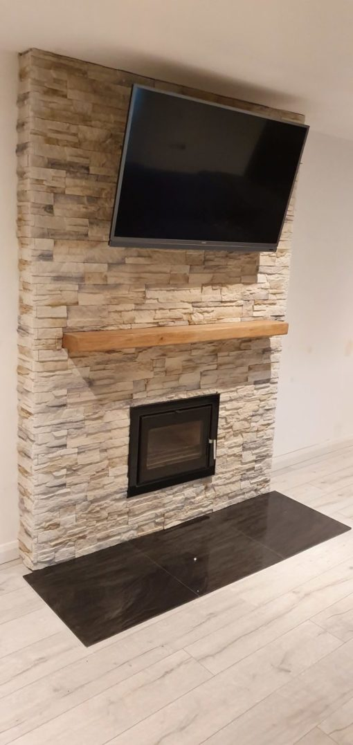 nepal frost stone tiles for fireplace