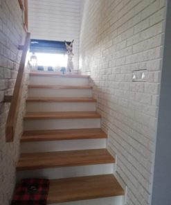 white brick slips parma gypsum tiles